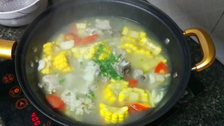 大厨教你:玉米排骨汤美味懒人做法,鲜香爽口不油腻,下饭特过瘾
