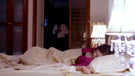 老总深夜坐在妻子床边,妻子误会丈夫要勒死她,他俩太搞笑了