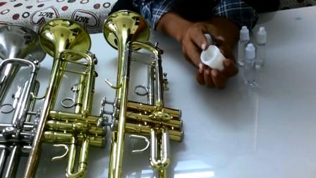 铜管乐器保养知识,详解小号上油方法及注意事项