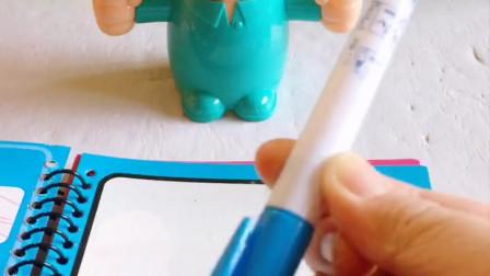 亲子小游戏:小光头的神器水画本