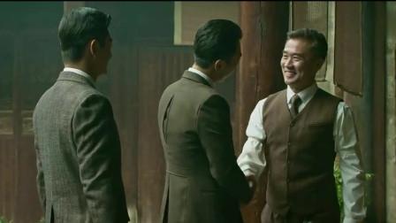 李现在《建军大业》中演的罗荣桓,虽然台词不多,演技值得称赞!