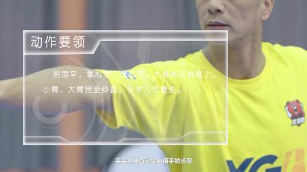羽毛球小课堂~网前反手技术架构