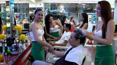 土豪在越南做SPA按摩,同时找了两个妹子,这服务让人飘飘欲仙