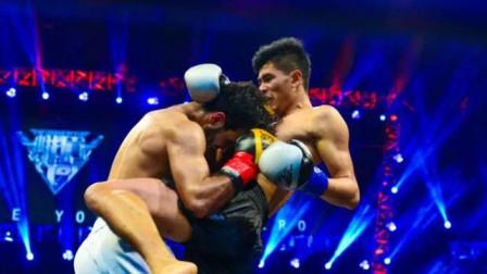 """泰国""""巨蟒""""开场重拳爆头,直接轰杀对手,杀入四强!"""