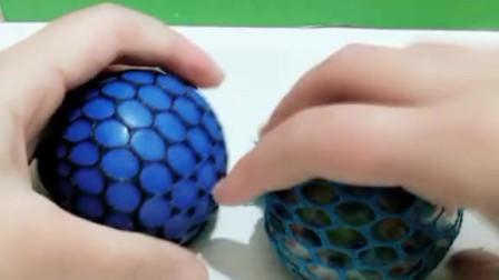 亲子小游戏:三个发泄球的较量