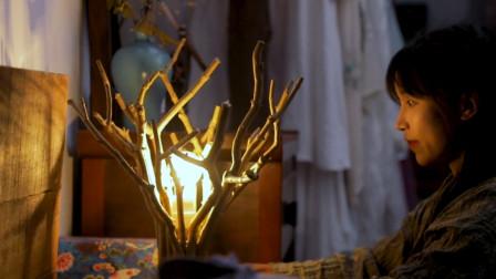 """李子柒用一堆""""枯树枝""""做灯罩,本以为会很丑,看到成品很想要!"""