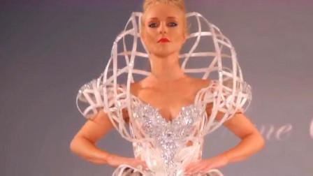 时装秀:奇特造型,前所未有的设计,这衣服能穿出去吗