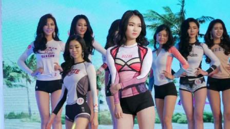 韩国选美大赛,高颜值美少女集中亮相!