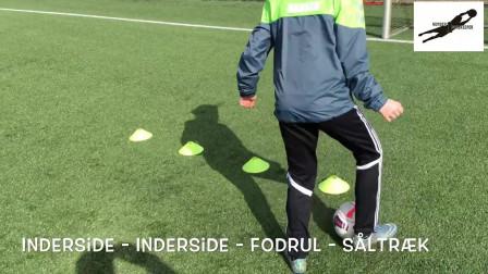 国外U青少年足球技巧训练教学视频43集