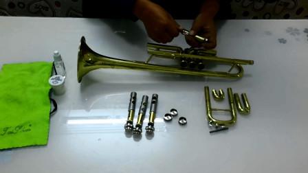 铜管乐器保养知识,小号的清洗