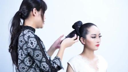 时尚美妆:拉丁舞发型教程