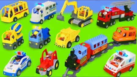 很可爱的小火车,棒棒的小赛车玩具
