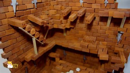 DIY-手工给仓鼠建造神奇的城堡冒险之旅!