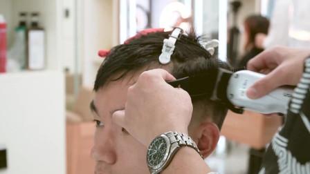 M型发际线男生不要愁 这种打理手法 修饰额头有型更自然 简单易学