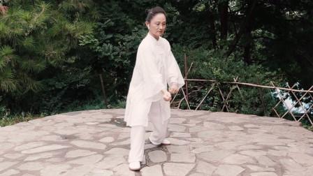 张光萍教学视频-太极拳八法五步 第十四课 活步採