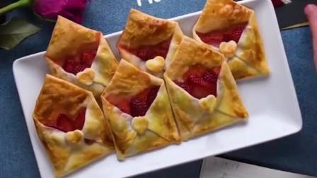 草莓情书派+草莓夹心巧克力,烘焙视频教程