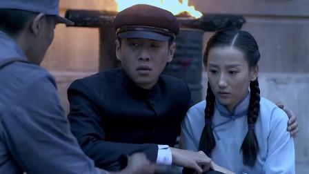 八路军誓死捍卫防线,虽然敌众我寡,也要用命保护大上海