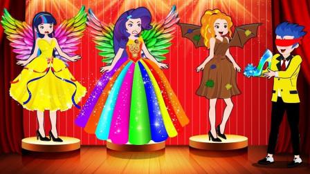 小鸟帮助紫悦参加音乐会,紫悦获得了冠军 小马国女孩游戏