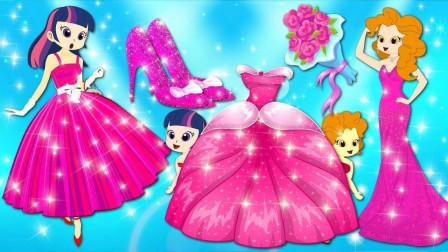艾达想吃糖果,阿坤和男生赚钱给艾达琪买 小马国女孩游戏