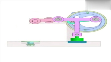 很了不起的机械设计,可以实现印章功能,动画演示工作原理!