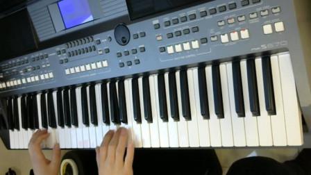 电子琴(夜之光)雅马哈975 电子琴教学 电子琴交流