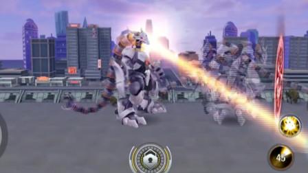奥特曼格斗:加拉德隆与加拉德隆的超强巅峰对决