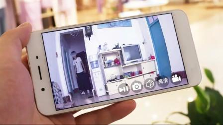 教你开启手机监控模式,不管离家多远,家里情况看得一清二楚!