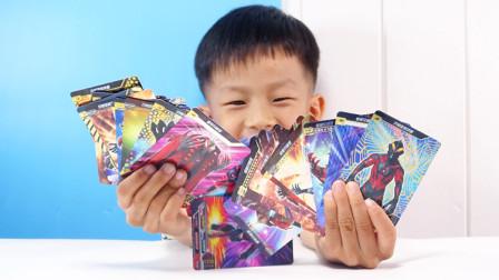 收集了22张贝利亚奥特曼卡片,看看哪一张更厉害?