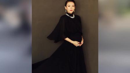 章子怡怀孕七个多月 汪峰夸赞爱妻:看不出肚子啊这么瘦