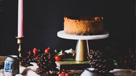 超详细步骤教你制作ins网红甜品-巴斯克南瓜香料芝士蛋糕