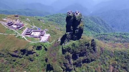 """贵州深山隐匿了一座""""天空之城"""""""