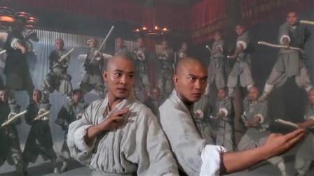 董天宝偷学般若掌,与张君宝大战少林罗汉棍阵,被逐出少林
