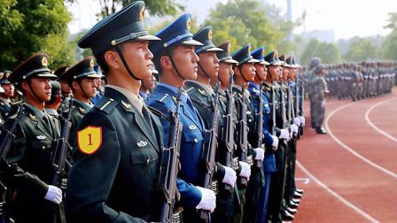 各国军校学员走队列,画风各有特点,解放军出场眼前一亮!