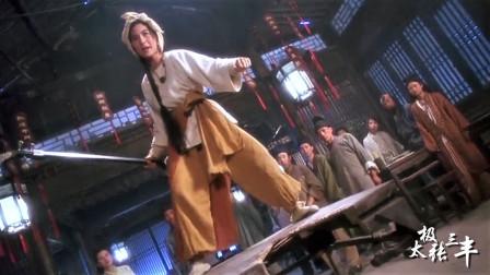 现在的武侠电影,应该是缺少这样的演员,不要在整天扣绿布了