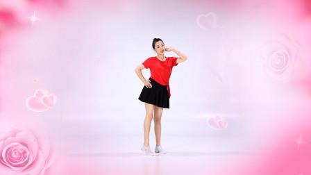 糖豆广场舞课堂《甜甜甜》,网红舞甜美又易学