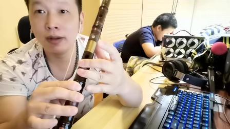 竹笛笛子的常用指法:筒音作2