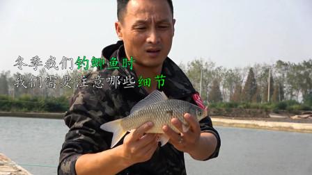冬季我们在钓鲫鱼时需要注意哪些细节?