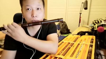 竹笛笛子基本功练习之:长音