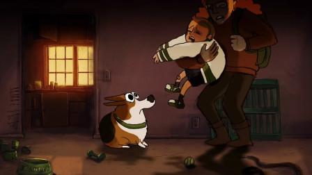 国外爆火感人动画《狗与丧尸》,一条被抛弃的狗是如何回报主人的