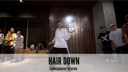 SINOSTAGE舞邦 kevin 编舞课堂视频 Hair down