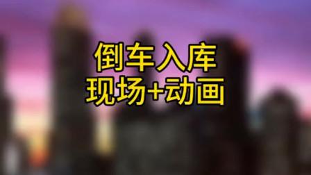 倒车入库动画演示