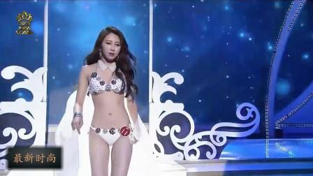 韩国小姐选秀大赛精彩时刻,朦胧的薄纱,仙气十足