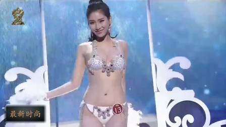 韩国小姐选秀大赛精彩时刻,笑容灿烂的选手,你心动了吗