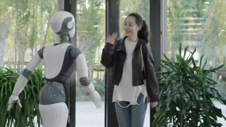 达闼科技5G云端智能机器人来啦~!