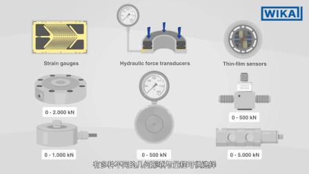 威卡中国:力的测量过程中使用的传感器技术(中文中字)