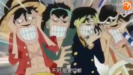 海贼王:碰到这样的队友也是无奈,娜美的输出全靠吼,伙伴们躺枪