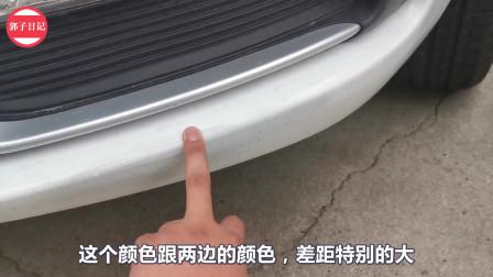 车停在小区里又被剐蹭了,虽然不是特别严重,但是它影响心情啊!