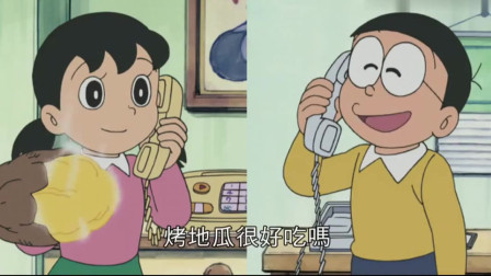 哆啦A梦:大雄从窗户看到小夫家,结果小夫在干这种事,笑死人了