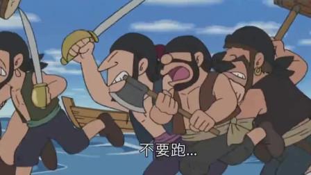 哆啦A梦:大雄被要求算题,结果罚去走廊罚站
