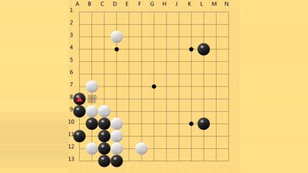 教小朋友下13路围棋实战(八)